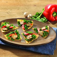 Warm Kale Triangles - Create the tastiestWarm Kale Triangles , Tostitos® own Kale recipe with step-by-step instructions. Make the best Kale recipe for any occasion.