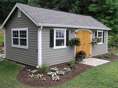 Backyard cottage http://www.backyardunlimited.com/sheds/garden-sheds