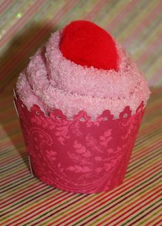 "Furry sock ""cupcakes"" - From Joy's life - HOW CUTE!!!"