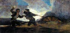 Riña a garrotazos - 黒い絵 - Wikipedia