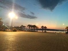 Aliaga cuhruriyet meydani Celestial, Sunset, Outdoor, Sunsets, Outdoors, Outdoor Life, Garden, The Sunset