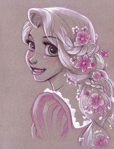 Guestbook by - Anime / Manga / Zeichentrick / Disney / Marvel - Disney Disney Princess Sketches, Disney Princess Art, Princess Cartoon, Disney Sketches, Disney Drawings, Drawing Disney, Disney Kunst, Art Disney, Disney Artists