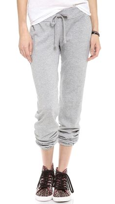 James Perse makes a mean sweatpant James Perse, French Terry, Yoga Pants, Lounge Wear, Bermuda Shorts, Leggings Are Not Pants, Dress Up, Sweatpants, My Style