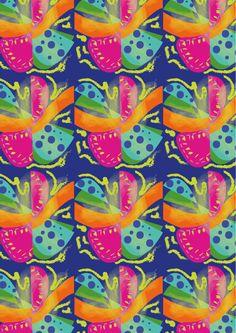 Diseños orgánicos que nos transportan a los sensuales movimientos del pez mandarín con sus colores impactantes.