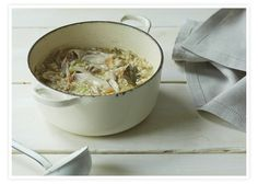 Chicken and Brown Rice Soup: A healthy spin on the classic chicken noodle, our chicken and brown rice soup is just as comforting, but gluten-free and elimination diet friendly. More a stew than a soup, this is a really satisfying one-pot dinner.