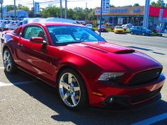 2014 Ruby Red Roush Mustang | Details about 2014 Ford Mustang RS2 Stage 2
