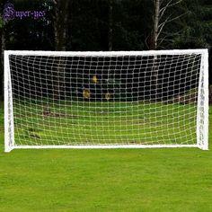 e0b6100d4 Advertisement(eBay) 24 x8  Official Size Football Soccer Goal Post Net  Anchor