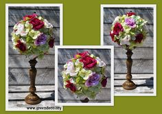 Wnętrza, Kule kwiatowe - Kula kwiatowa to dekoracja,którą można zawiesić na karniszu,na lampie, lub na wszystkich innych uchwytach. Kule ślicznie wyglądają...