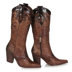 Bota Country Tucson P446 - Castanho Bota Country, Estilo Country, Country Outfits, Moda Online, Tucson, Cowboy Boots, Closet, Fashion, Brown Boots Outfit