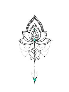 Lotus Mandala Tattoo, Tattoos Mandala, Lotus Tattoo Design, Sternum Tattoo, Henna Tattoo Designs, Flower Tattoos, Hand Tattoos, Small Tattoos, Sleeve Tattoos
