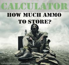 How much ammo to sto