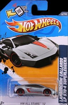 Hot Wheels Lamborghini Gallardo LP 570 4 Superleggera (Silver) Red Line tires, HW All Stars # Scale Die Cast. Dodge Dart Gt, Kia Stinger, Street Racing Cars, Passenger Aircraft, Lego Room, Matchbox Cars, Bmw M4, Hot Wheels Cars, Train Layouts
