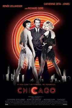 Chicago................ BEST MOVIE EEEEVVVVEEERRR (and musical) go see it on Broadway ;)