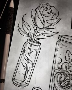 Pencil drawing - Art Sketches Ideas - Survive # pencil drawing fix . - Heart - Pencil drawing Art Sketches Ideas still survives - Pencil Art Drawings, Art Drawings Sketches, Easy Drawings, Tattoo Drawings, Sketch Drawing, Anime Sketch, Tattoo Sketches, Drawing Reference, 7 Tattoo