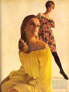 Fashion - McCall's - May, 1967 1967 Fashion, Retro Fashion, Vintage Fashion, 1960s Dresses, Swinging London, Cultural Events, Retro Outfits, Vintage Love, Fashion Colours