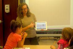 Port Jefferson students learn about Homework Help.