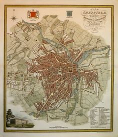 Page two | Town Plans, Antique Maps, Vintage Maps, Old Maps, York, St Albans, Derby, UK