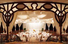 aimee's wedding reception venue: maynila ballroom, manila hotel, philippines.