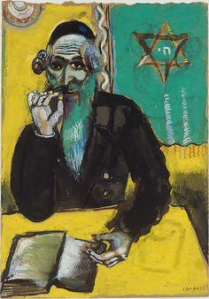Marc Chagall (French, Vitebsk 1887–1985 Saint-Paul-de-Vence) A Pinch of Snuff