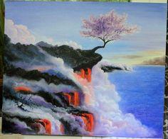 Купить Выживает сильнейший - картина в подарок, картина, картина для интерьера, картина маслом, картина на холсте