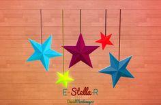 "David Montenegro: ""Star-Lights"" Ceiling Lamps"