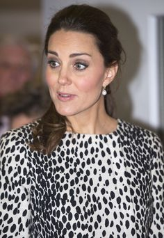 Catherine, Duchess of Cambridge is seen during her visit to Resort Studios in Cliftonville on March 11, 2015 in Margate, England.
