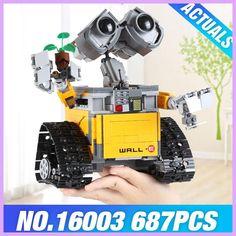 2017 New Lepin 16003 Idea Robot WALL E Building Set Kits Toys Educational Bricks Blocks Bringuedos 21303 for Children DIY Gift
