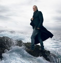 SHIP'S SAIL Sting, photographed in New York by Annie Leibovitz