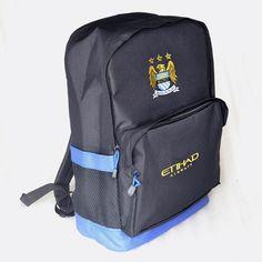 jual backpack manchester city hitam. kode barang: MCRBLA. harga: 105rb. BBM: 54619660 SMS/WA/LINE: 085736078627