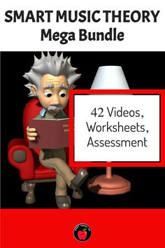 42 movie files - over 70 minutes of video! Includes  note name posters, Teachers Guide, links to online Assessments for Google classroom, reproducible workbook and evaluation pages. UNITS INCLUDE: STAFF - Lines Music Theory For Beginners, Basic Music Theory, Help Teaching, Teaching Music, Music Theory Worksheets, Music Activities, Treble Clef, Elementary Music, Music Classroom