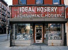 deliving blog: Fachadas de viejas tiendas