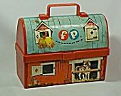 Fisher-Price Mini Lunchbox c. 1962