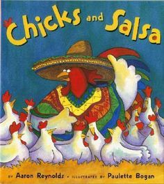 Another great children's book. The chickens are tired of their regular food and try some new recipes!