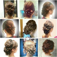 ゆるアップ ルーズアップ まとめ髪 アップ へアセット 編み込み Hairset Loose up do 盛らないへアセット Hairsalon Welina Hitomi.yanagida