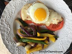 Jen's Mother and Child Reunion. JenniferGuerrero.com Magnetic Spice Tins, Mother And Child Reunion, Bacon Gravy, Brunch Places, Sweet Bell Peppers, Paleo, Keto, Stuffed Poblano Peppers, Sliced Tomato