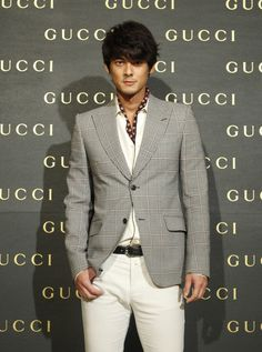 View and license pictures & news photos from Getty Images. Asian Actors, Suit Jacket, Gucci, Blazer, Mens Fashion, Jackets, Pictures, View Image, Fanfiction