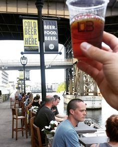 @lakefront brewery has #craftbeer and a superb patio on the river! #visitmke #beer
