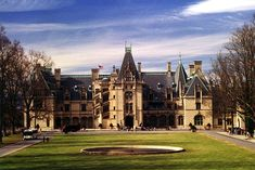 Even though I have been here I would love to back. Biltmore Estate, Ashville, North Carolina
