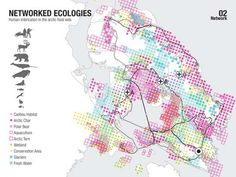 Regional food-gathering nodes and logistics network by Lateral Office / InfraNet Lab