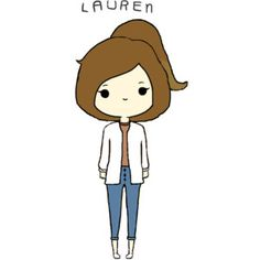 cute chibi girl from tumblr | edited by @bellakatarina-xo.