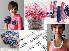 Navy & Pink Palette!