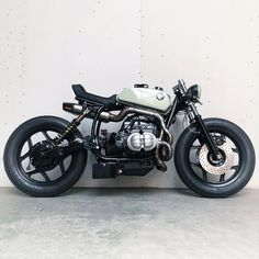 New from Arjan van den Boom of Ironwood Custom Motorcycles: 'The Mutant,' a 1985 BMW R80 with a unique, aggressive style of its own.