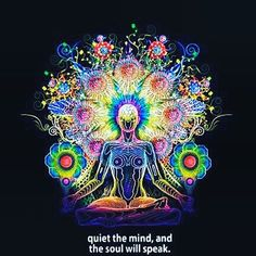Quiet the mind and the soul shall speak.