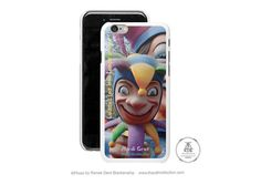 Jester iPhone Case Mardi Gras Phone Case by theRDBcollection