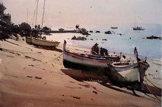 Joseph Zbukvic - watercolor CostaBrava (Blog JRomeo- Palencia -Spain)