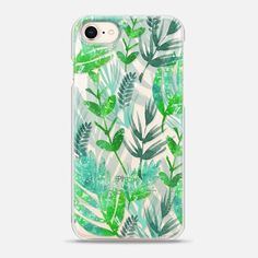 Casetify iPhone 8 Snap Case - Foliage by Li Zamperini Art