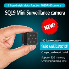 Volemer SQ19 Micro Camera Full HD 1080P Infrared Night Version Monitor Concealed Video Voice Recorder DV Camera Flexible Camera  Price: 29.99 & FREE Shipping #computers #shopping #electronics #home #garden #LED #mobiles #rc #security #toys #bargain #coolstuff |#headphones #bluetooth #gifts #xmas #happybirthday #fun