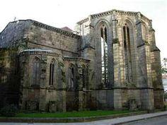 Pontevedra Galicia ruinas de santo gomingo