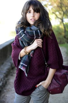 Lovely Burgundy http://lovely-pepa.com