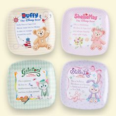 New Starjets and Duffy, ShellieMay, Gelatoni, and StellaLou merchandise comes out this August at Tokyo Disney Resort.